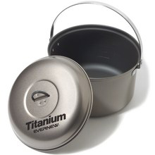 Evernew Slick Non-Stick Titanium Pot - 4 Liter -